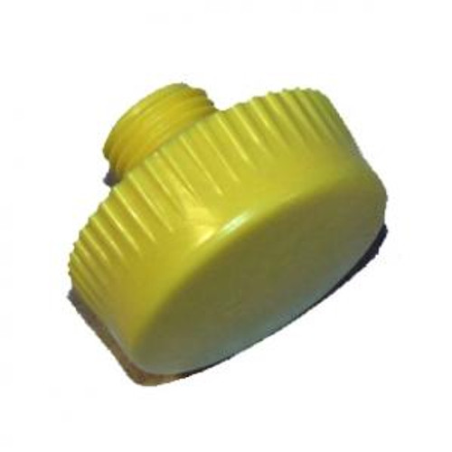 """1"""" Diameter Extra Hard Yellow replacement tip for NT100 hammer. One tip."""