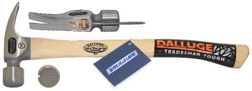 Dalluge 7175 14 oz. Titanium Hammer.