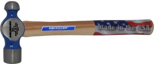 "Vaughan 32 oz. Ball Pein Hammer,15 3/4"" wood handle"