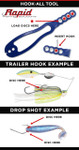 Rapid Fishing Solutions Freshwater Hook-All Tool instructions.