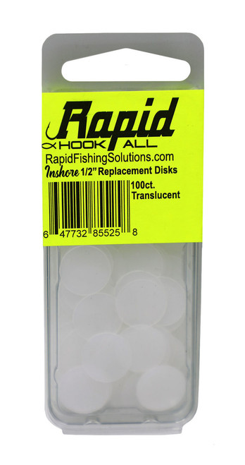 Rapid Saltwater Hook-All Replacement Disks - Inshore 1/2 inch