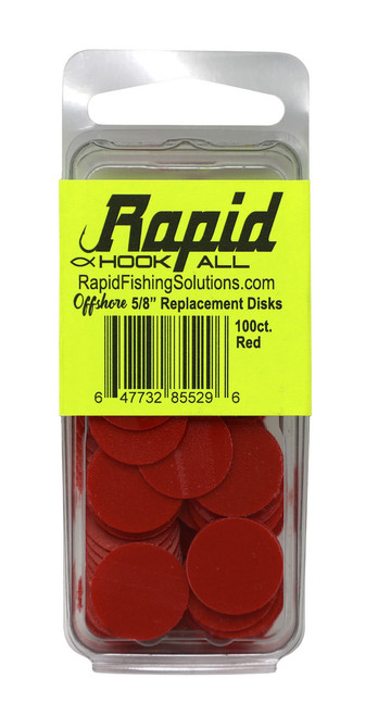 Rapid Saltwater Hook-All Replacement Disks - Offshore 5/8 inch