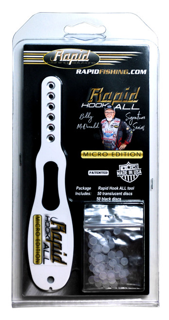 Billy McDonald Signature Series Rapid Fishing Solutions Freshwater Hook-All Micro Tool.