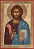 Icon of Christ the Pantocrator - 20th c. - (11J12)