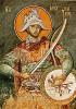Icon of St. Mercurios - 14th c. Panselinos - (1ME10)