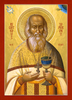 Icon of the Righteous Sophrony of Essex  - 20th c. - (1NC13)
