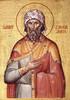Icon of St. Zacchaeus - 20th c. - (1ZA15)