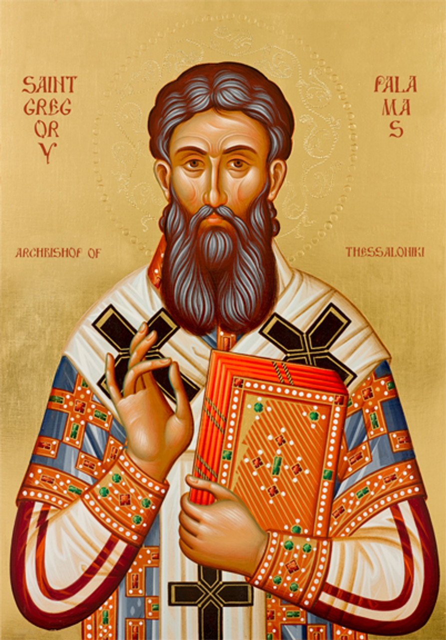 Icon of St. Gregory Palamas - (1GP08) - Uncut Mountain Supply