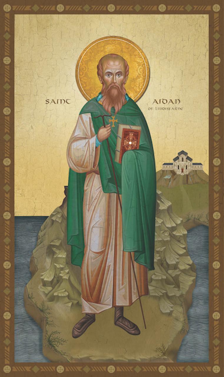 """Αποτέλεσμα εικόνας για saint Aidan"""""""