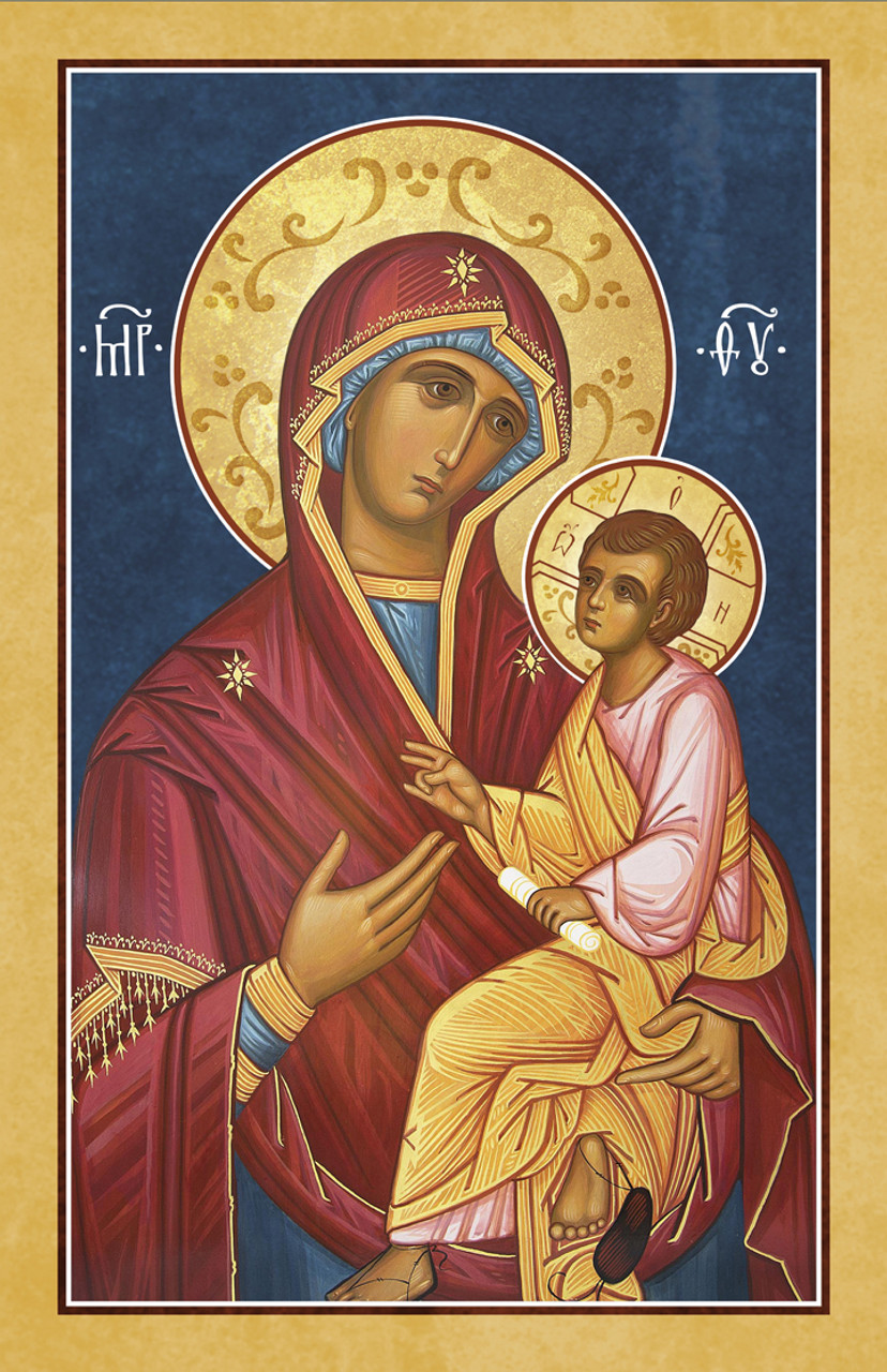 Icon of Theotokos the Directress (Russian), 20th c.