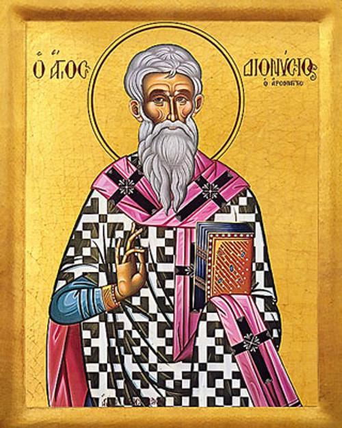 Icon of St. Dionysios the Areopagite - 20th c. - (1DI10)