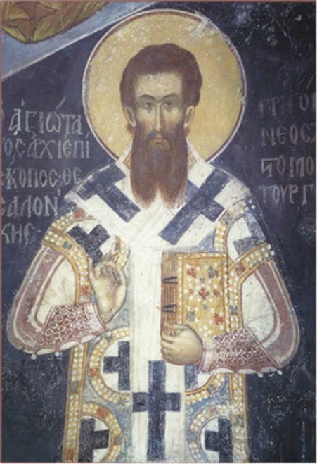 Icon of St. Gregory Palamas - 14th c. Mount Athos - (1GP09)
