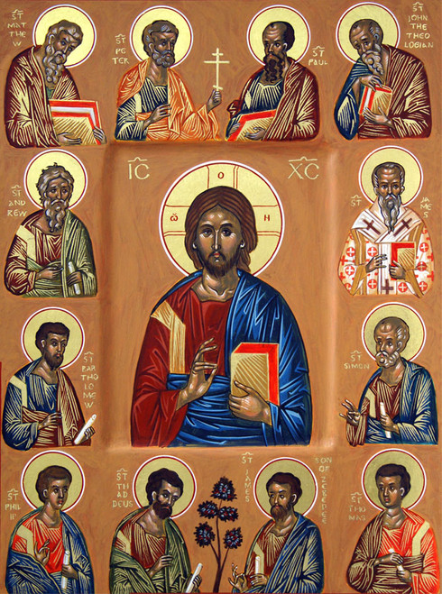Icon of Christ the Vine  - (11S16)