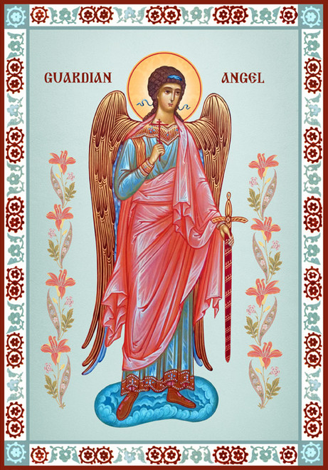 Icon of the Guardian Angel - 20th c. - (1AN19)