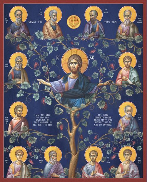 Icon of Christ the Vine  - Byzantine - (11S51)