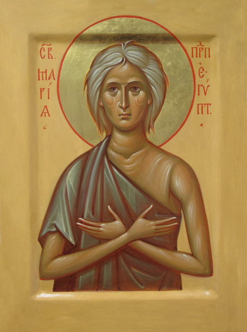 Icon of St. Mary of Egypt - (Russian) - (1MA79)