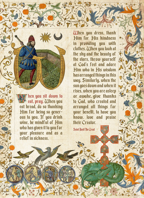 In All Things Give Thanks Manuscript - (POS17)