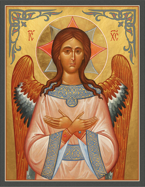 """Icon of Christ the """"Angel of the Lord"""" - Russian - (11S37)"""