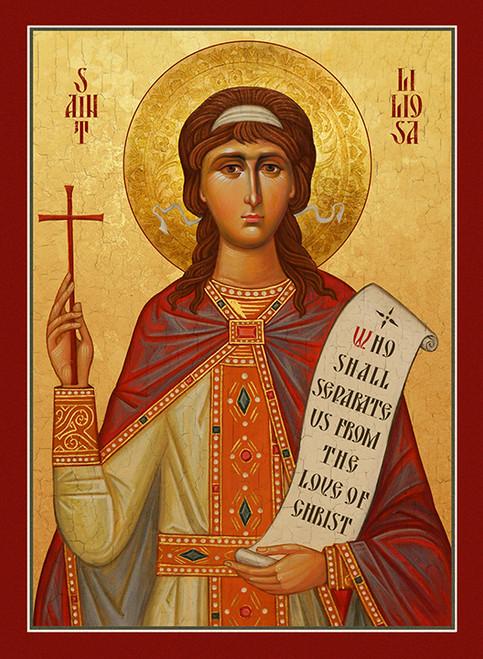 Icon of St. Liliosa of Cordova - (1LI10)