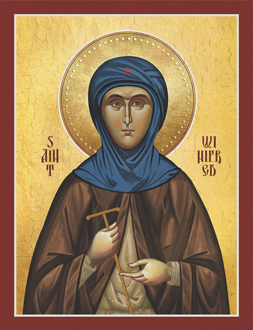 Icon of St. Winifred - (1WN10)