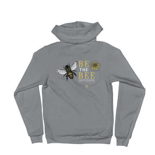 Be the Bee – Women's Zip Up Hoodie sweater