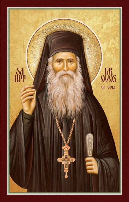 Recently Canonized Saint Iakovos of Evia.