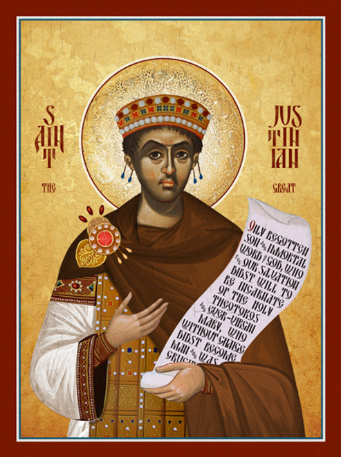 Saint Justinian the Great