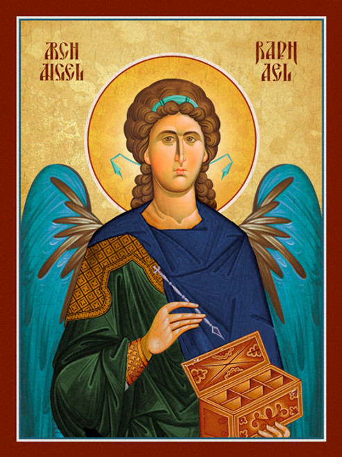 Icon of the Archangel Raphael