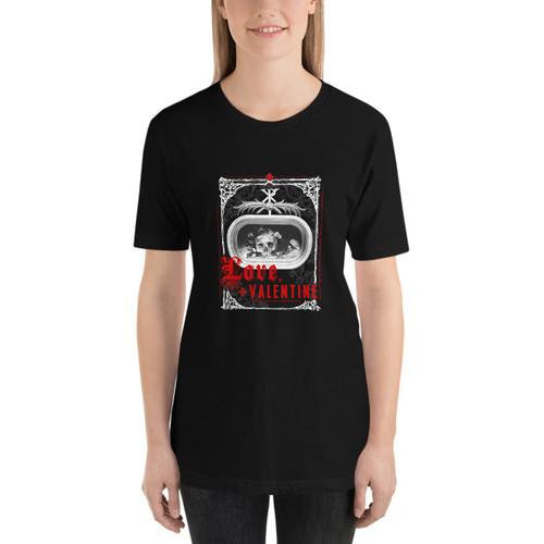 Love, Valentine - Women's T-shirt (dark)