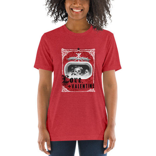 Love, Valentine - Women's T-shirt (light)