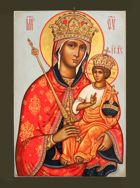 "Icon of the Theotokos ""Queen of Heaven"""