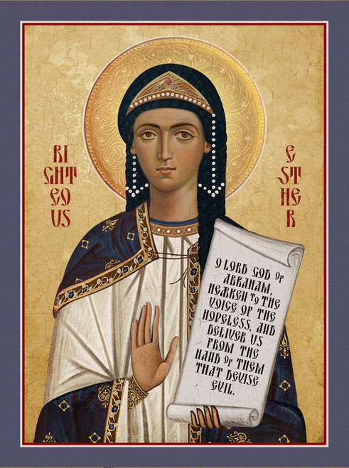Icon of Righteous Esther (Queen Esther)