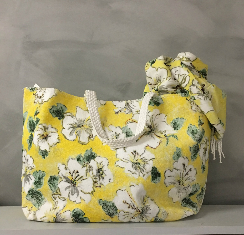 Beach Bag with water proof lining