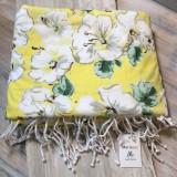 Hibiscus Luxe Beach Towel
