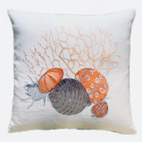 Fregate Linen Cushion Cover Coral