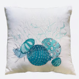 Fregate Linen Cushion Cover Lagoon