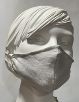 Grey French Linen Mask