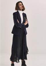 Parisienne Navy Skirt