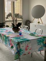 Paloma Linen Table Cloth