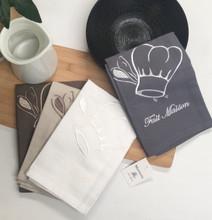 "Kitchen Towels - FAIT MAISON ""HOME MADE"" -  (Set OF 4)"
