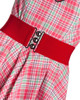 Hell bunny wide stretch belt in red