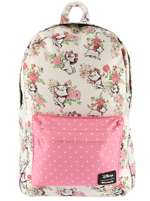 loungefly disney aristocats marie floral backpack