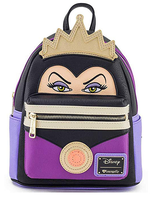 d8be3e544c4 Loungefly x Disney Evil Queen Character Mini Faux Leather Backpack