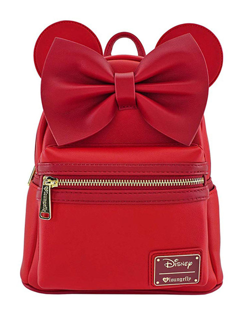 Loungefly x Disney's Minnie Mouse Mini Backpack
