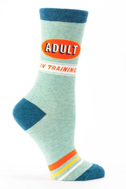womens crew socks - adult in training