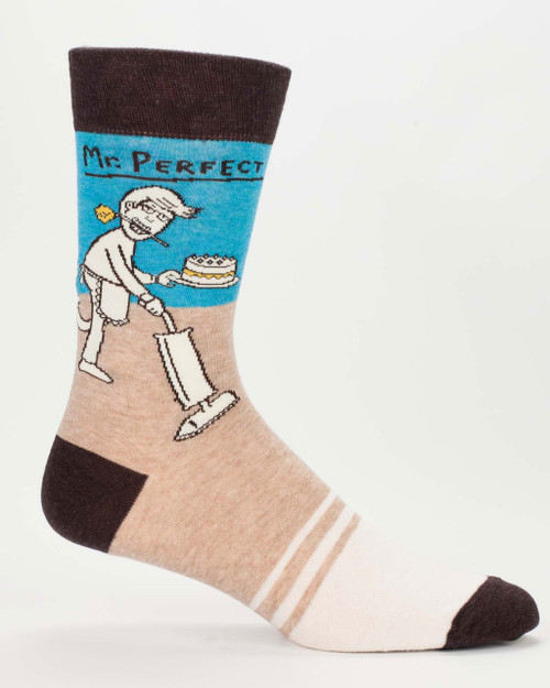 blue q mens crew socks - mr perfect