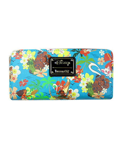 Loungefly x Disney's Moana Faux Leather Wallet