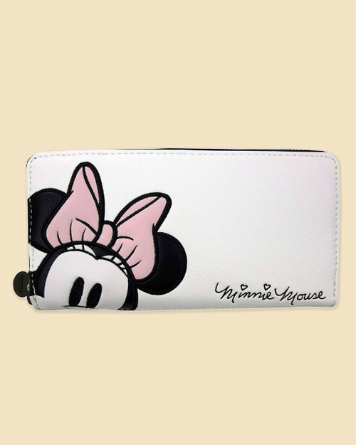 Loungefly x Disney's Minnie Mouse Pink Bow Wallet