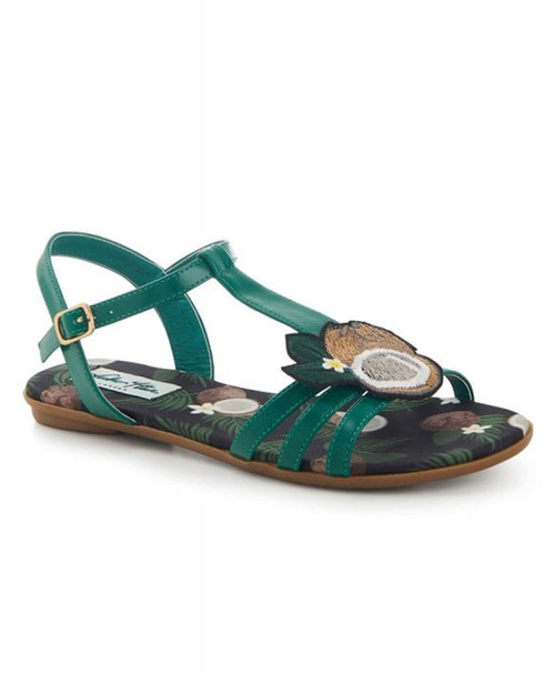 Lulu Hun Lottie Tropical Coconut Sandals