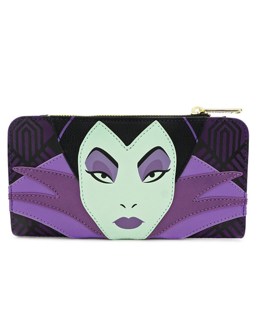 Loungefly x Disney's Maleficent Character Wallet